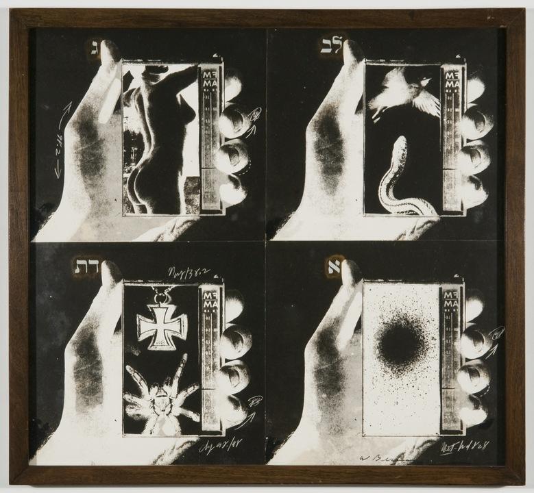 Wallace Berman, Untitled, 1970