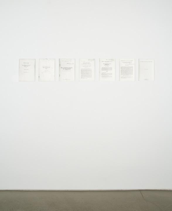 Jochen Lempert , The Works of C.P. Alexander from 1915 to 1974 , 2005
