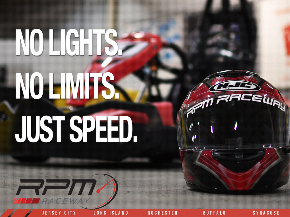 No lights, no limits, just speed. - RPM Raceway