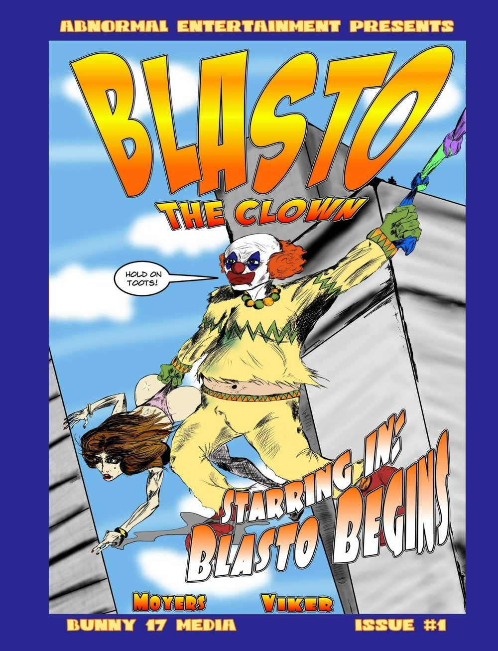 - When a clown with a less-than-charming personality is cursed by a mystical enchilada, he ends up joining a team of heroes determined to take on the criminals and the government of Windburgh, Arizona.Comic/Coloring Book
