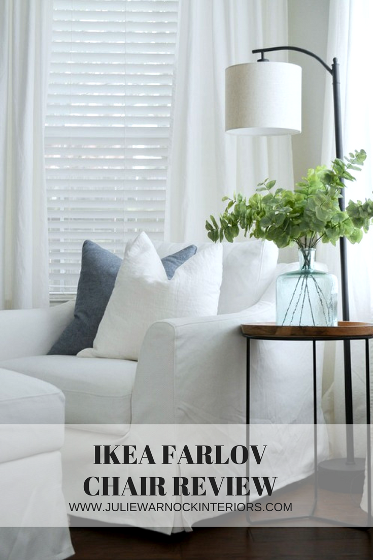 Ikea Farlov Chair Review - The Perfect Farmhouse and Coastal Chair - Review by Julie Warnock Interiors.