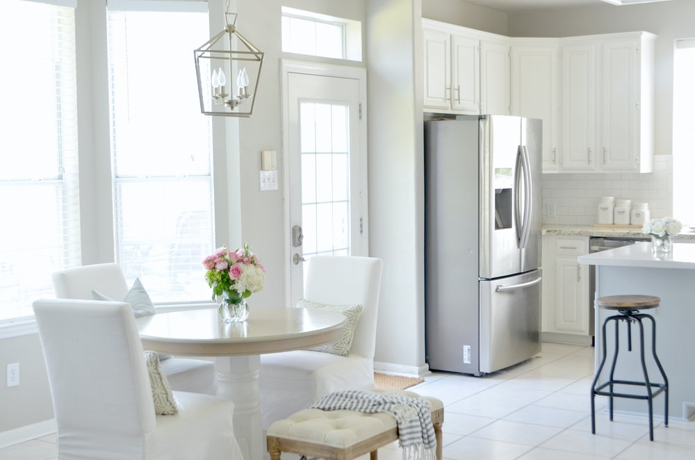 Oak Kitchen makeover reveal by Julie Warnock interiors