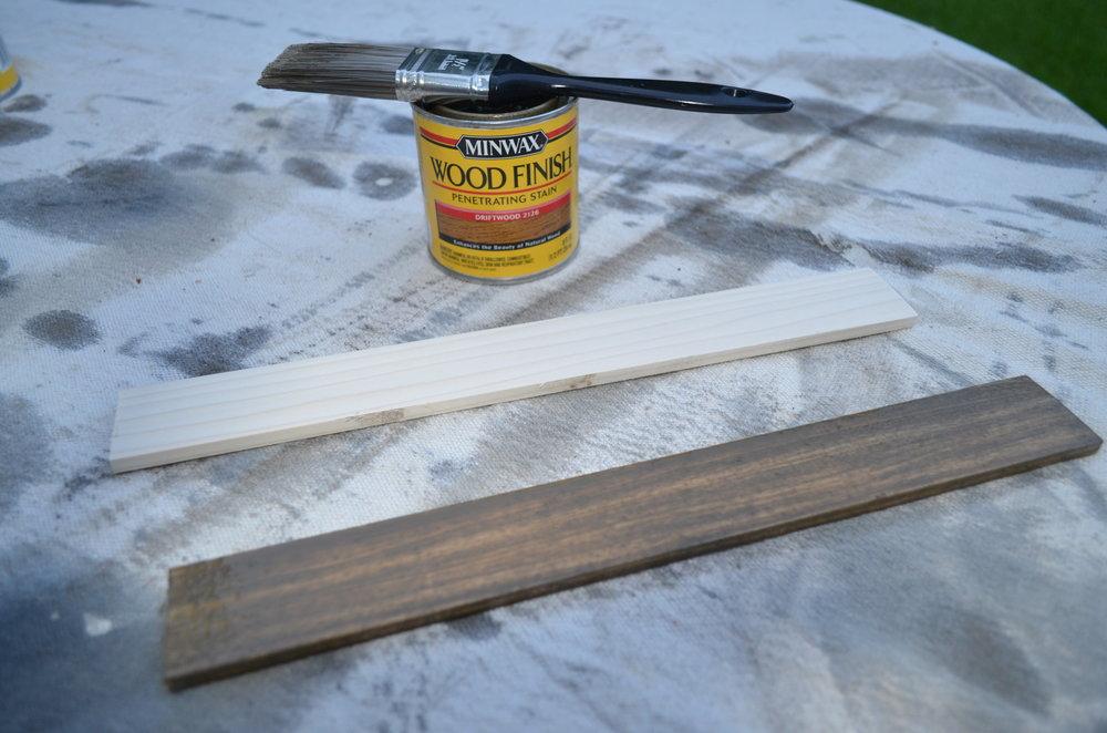Staining Poplar Boards
