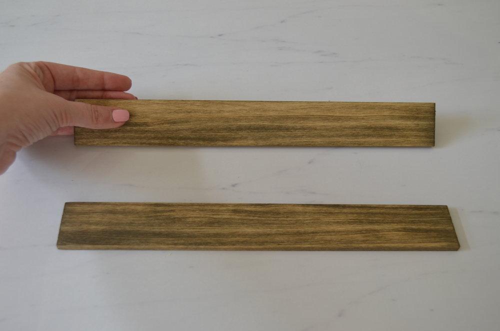 Poplar Boards Driftwood Stain
