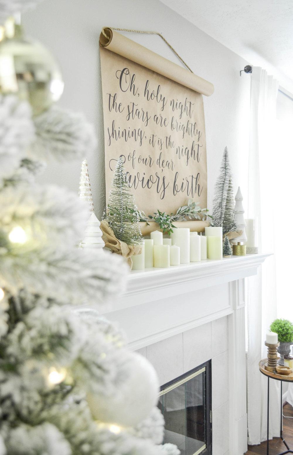 Christmas Living Room Tour — Julie Warnock Interiors