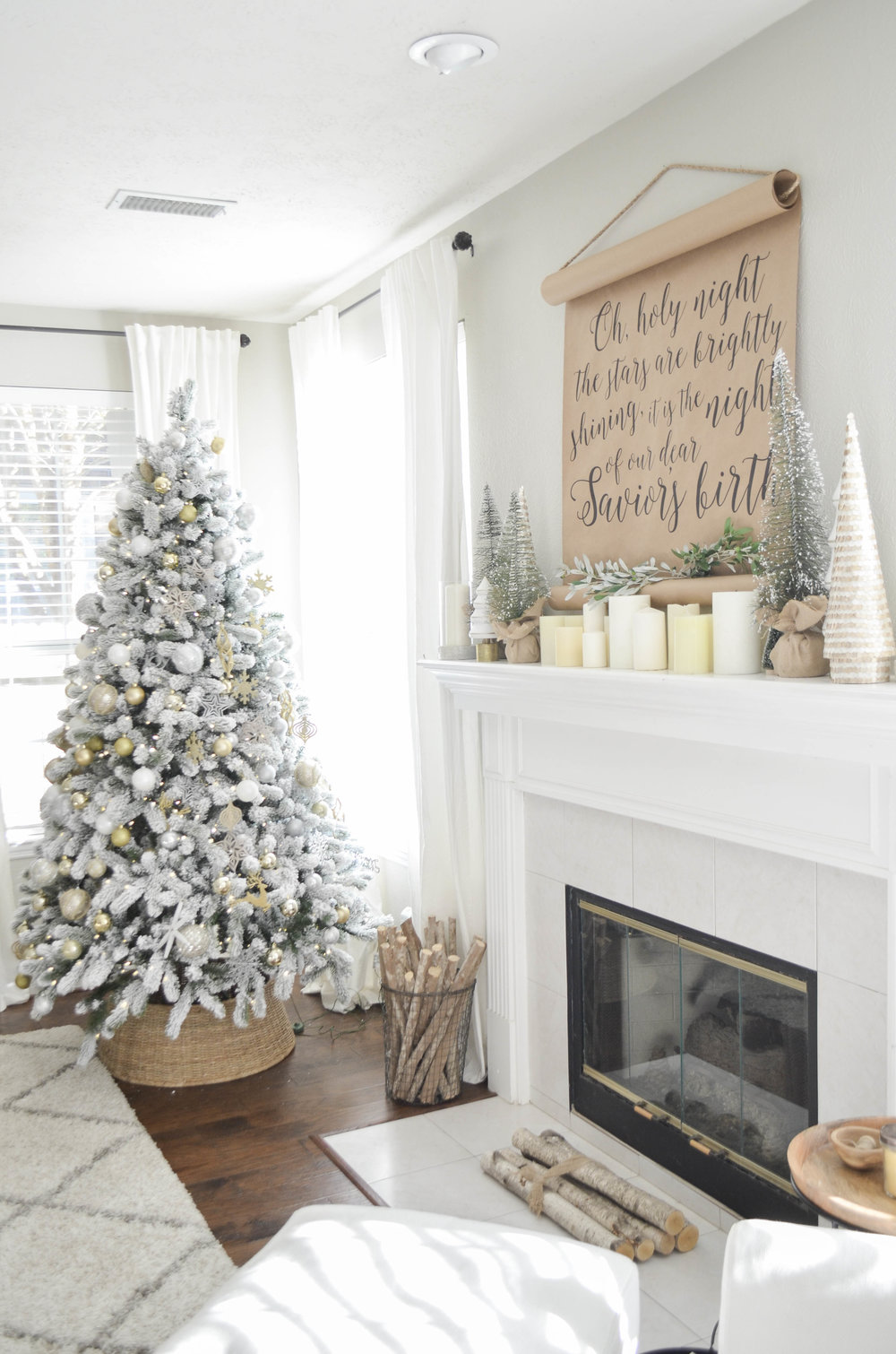 Christmas Living Room Tour — Julie Warnock Interiors
