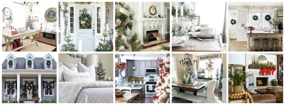 Christmas HOLIDAY HOME TOURS