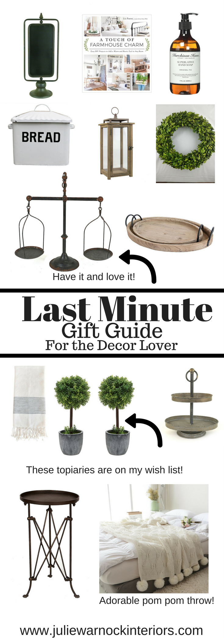 Last Minute Gift Guide for the Decor Lover