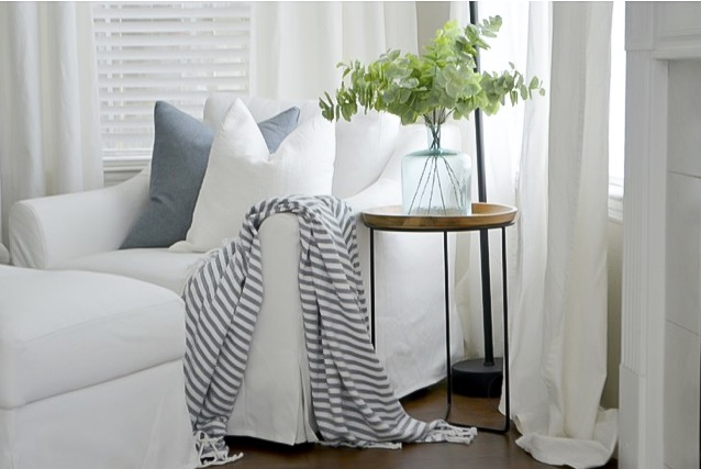 Ikea Farlov Chair and Ikea Farlov Ottoman; Review by Julie Warnock Interiors