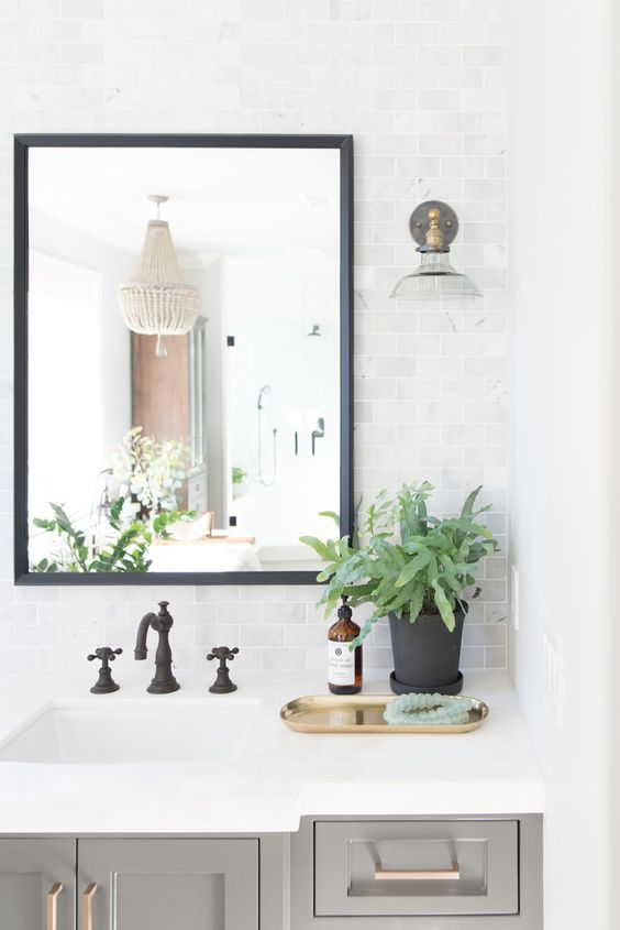 Powder Bath via Studio McGee