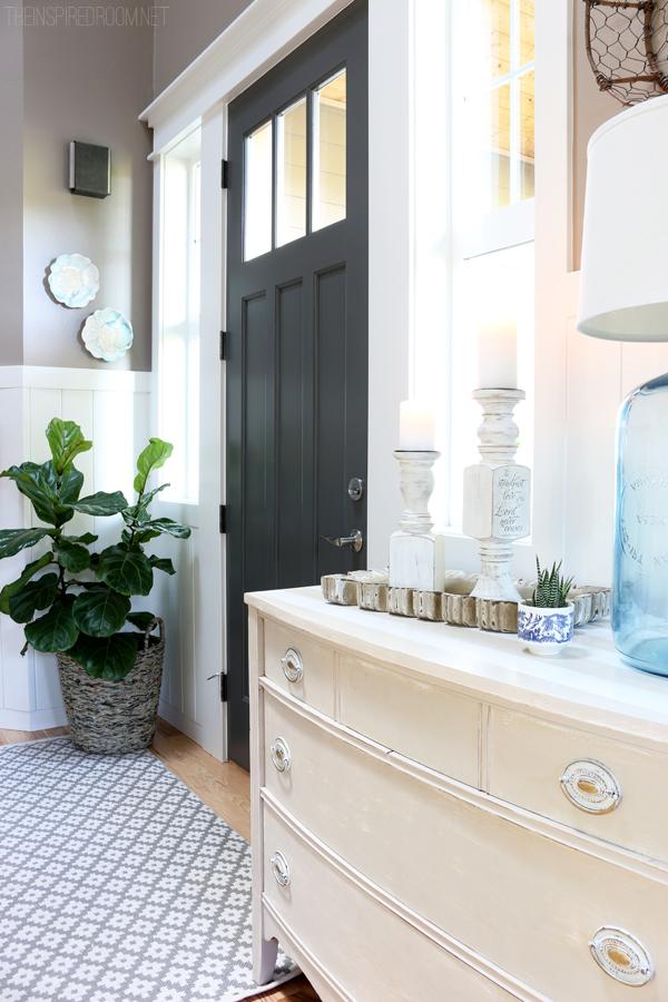 Kendall Charcoal Door via The Inspired Room