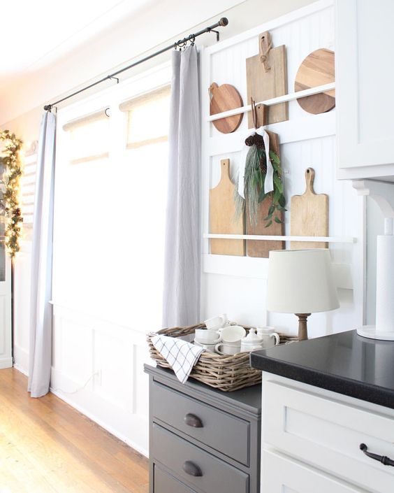 Cutting Board Storage via Pine and Prospect Home