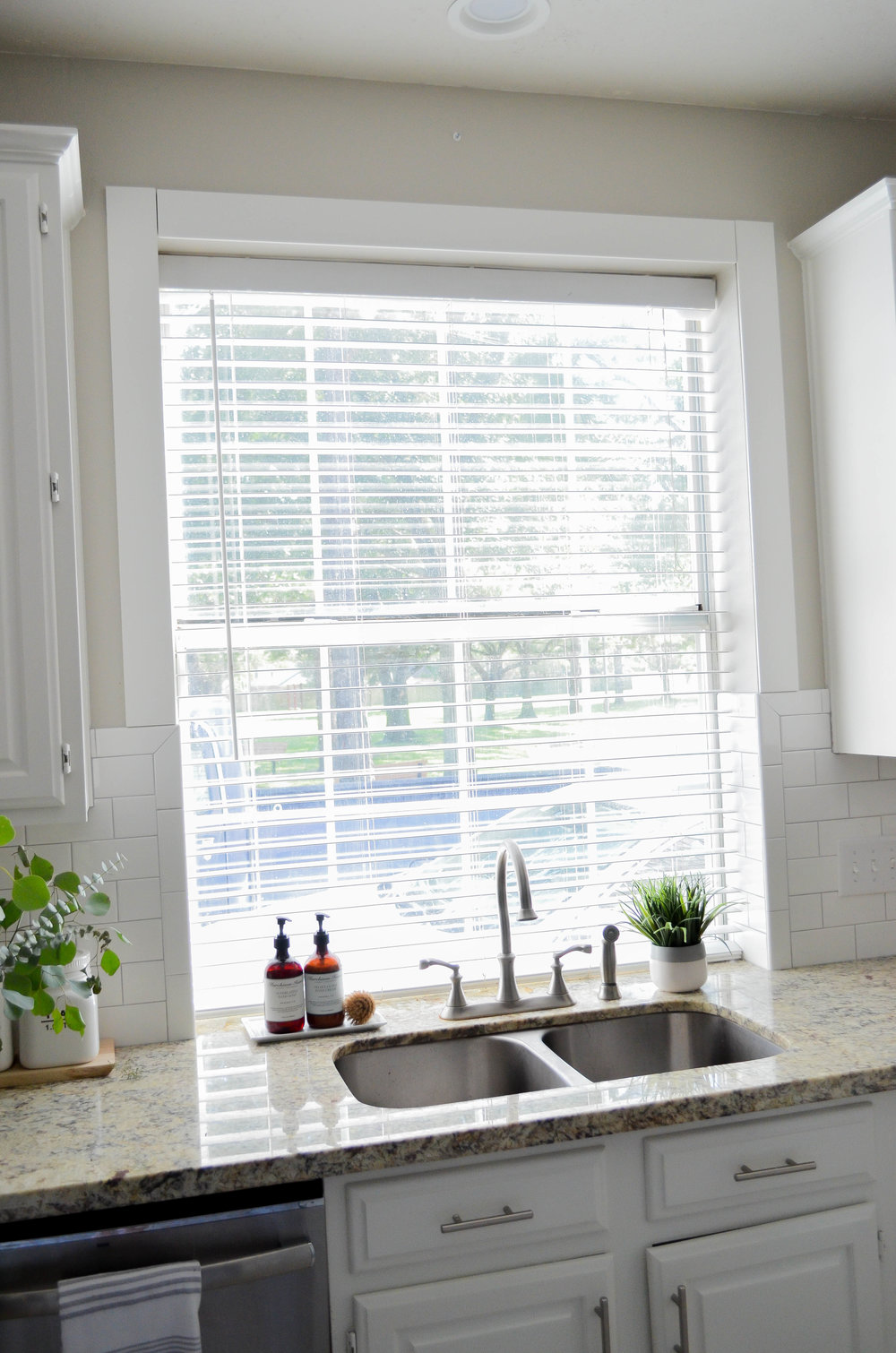 Adding Farmhouse Charm: Framing a Kitchen Window