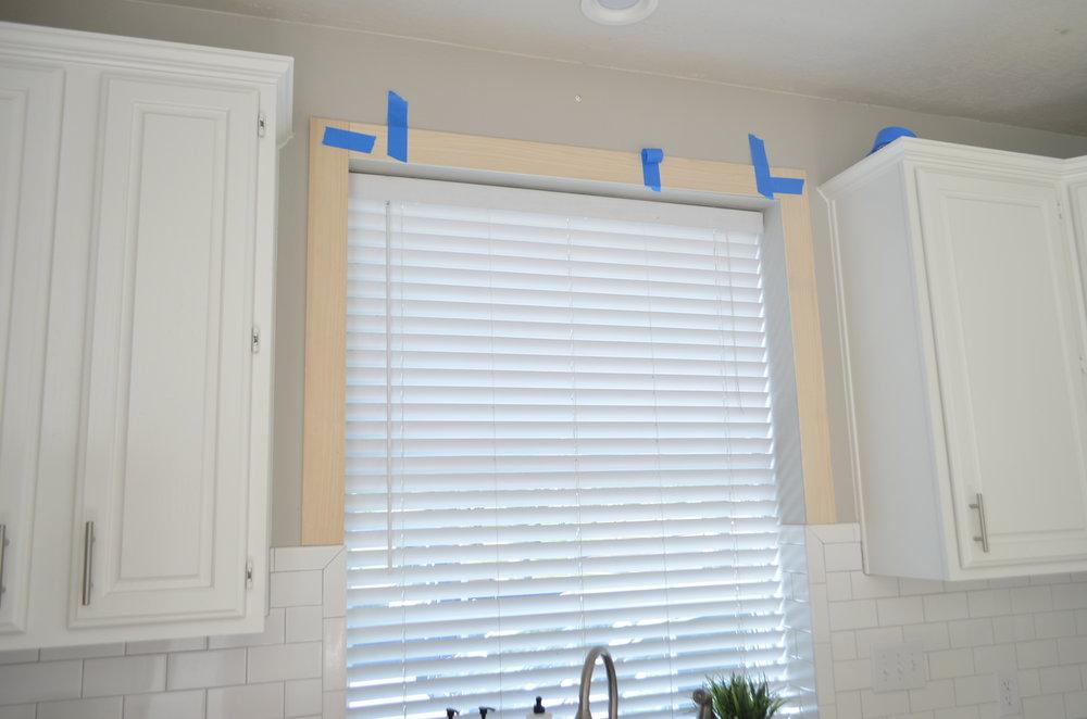 Adding Farmhouse Charm: Framing a Kitchen Window