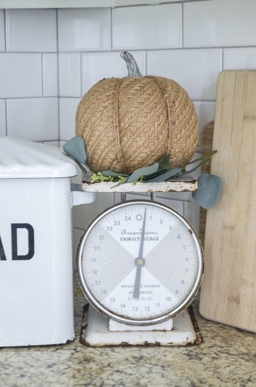 Subtle Hints of Fall Kitchen Tour