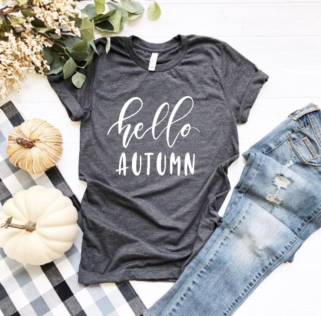 Hello Autumn T Shirt