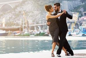 Argentine tango lessons -