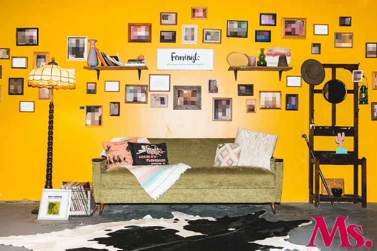 MS. MAGAZINE- There's an Empowering Message Behind This Room Full of Dick Pics.