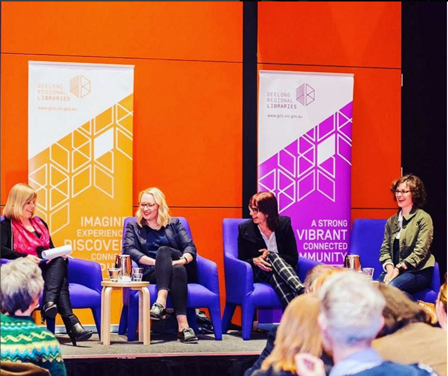 'Working With Words' panel at Geelong Library with Deakin University