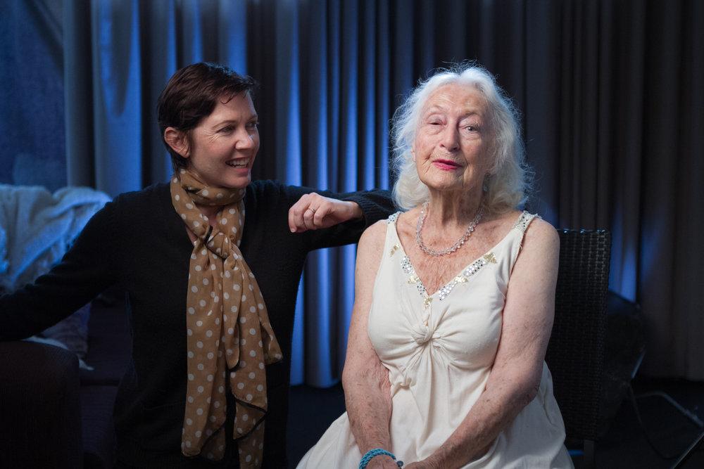 The amazing 100 year old Eileen Kramer.