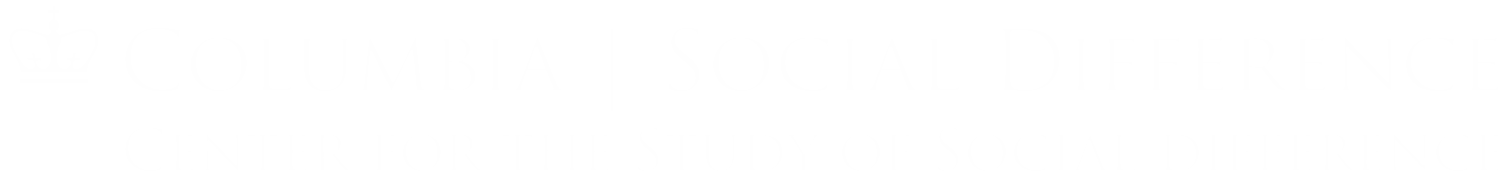 CENTER FOR THE STUDY OF SOCIAL DIFFERENCE
