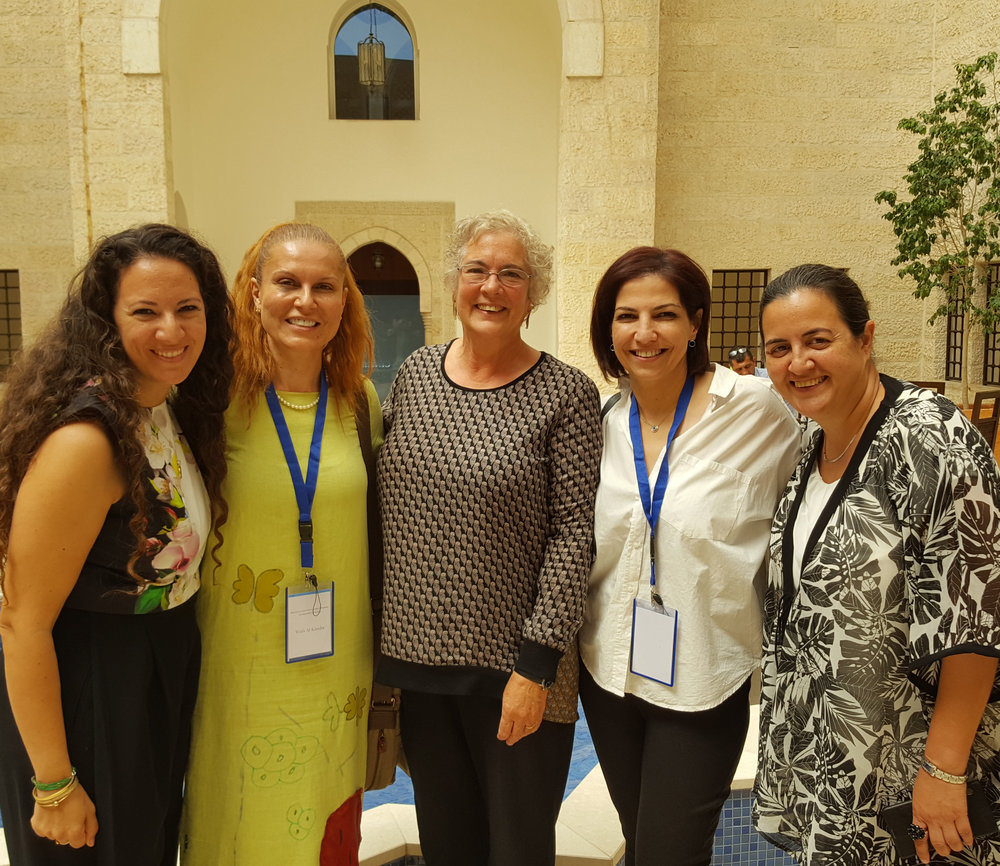 Sara Ababneh, Wafa Al Khadra, Lila, Hadeel Aziz, Hala Ghosheh