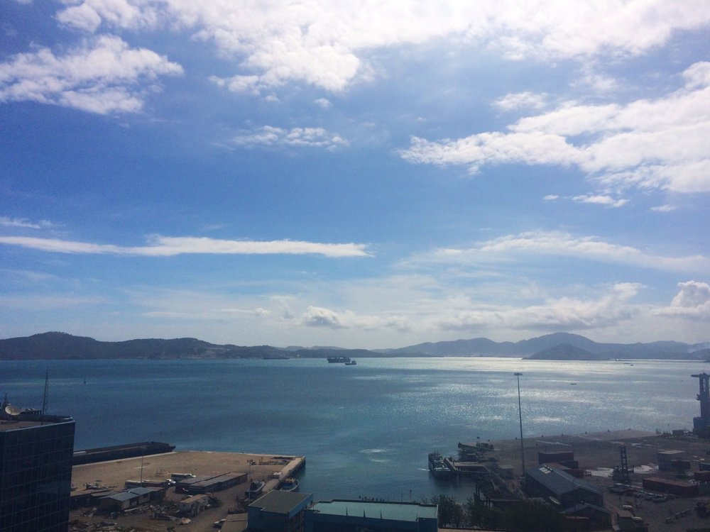 Port Moresby city view.