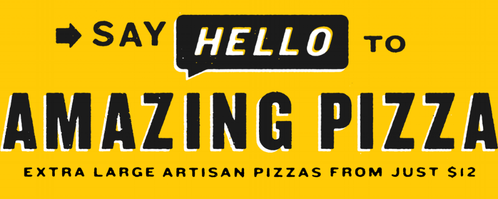 Say Hello To Amazing Pizza
