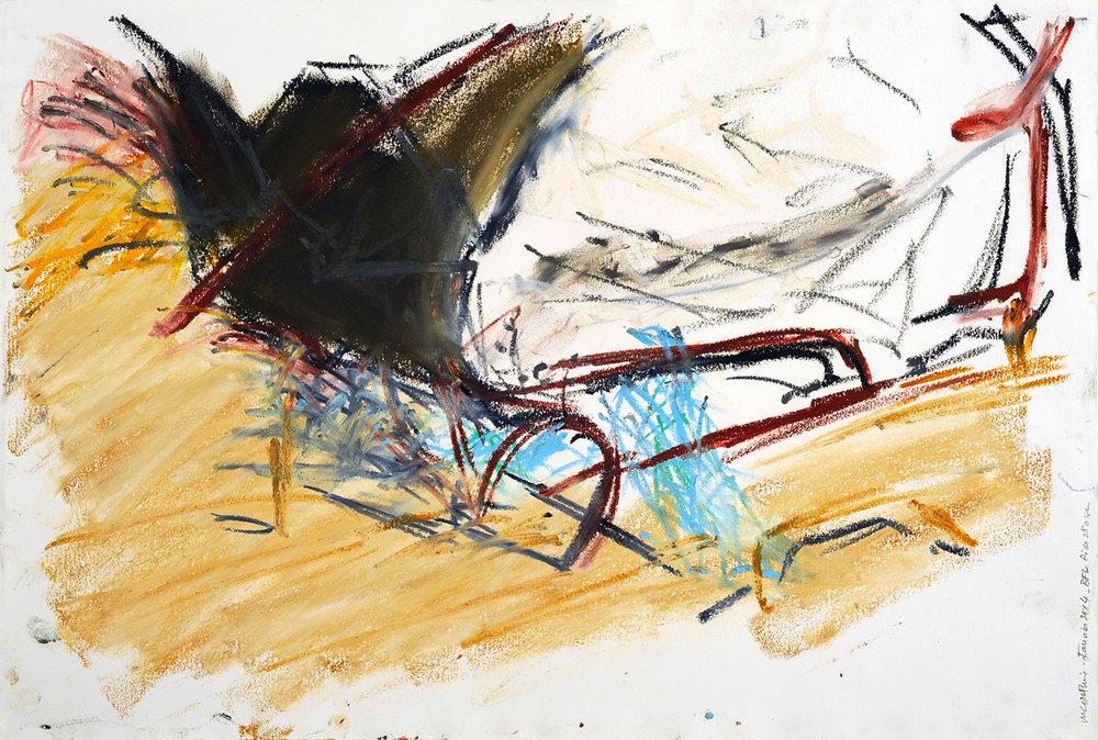 Série « Épaves, fer, béton », 2004