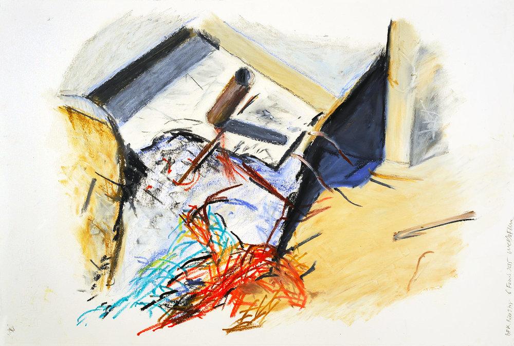 Série « Épaves, fer, béton », 2015