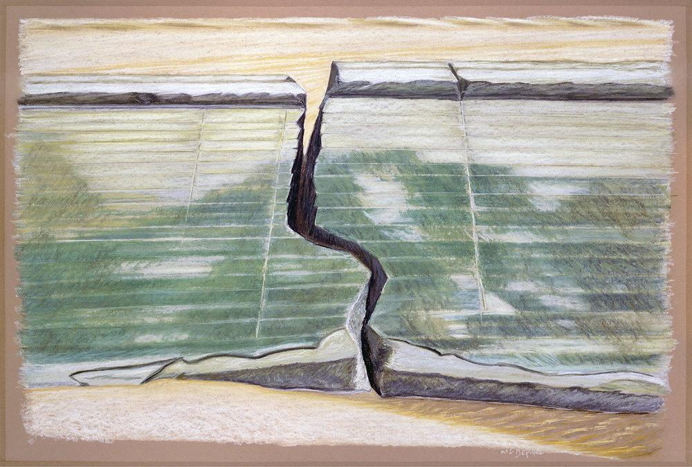 Fracture, renversement Nº 6, 1991-92