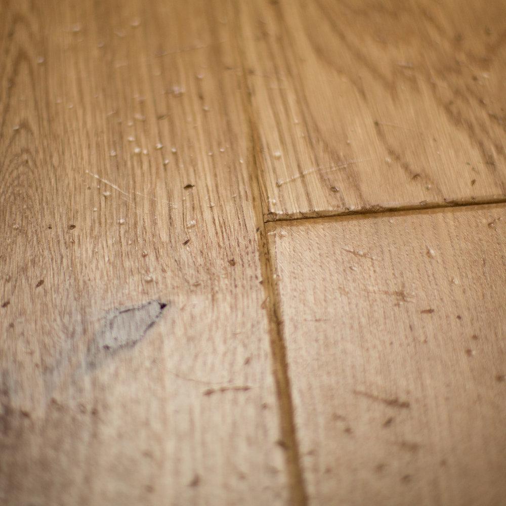 Luxury oak engineered flooring