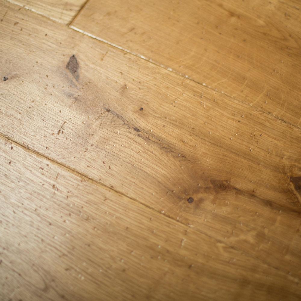 High end oak flooring