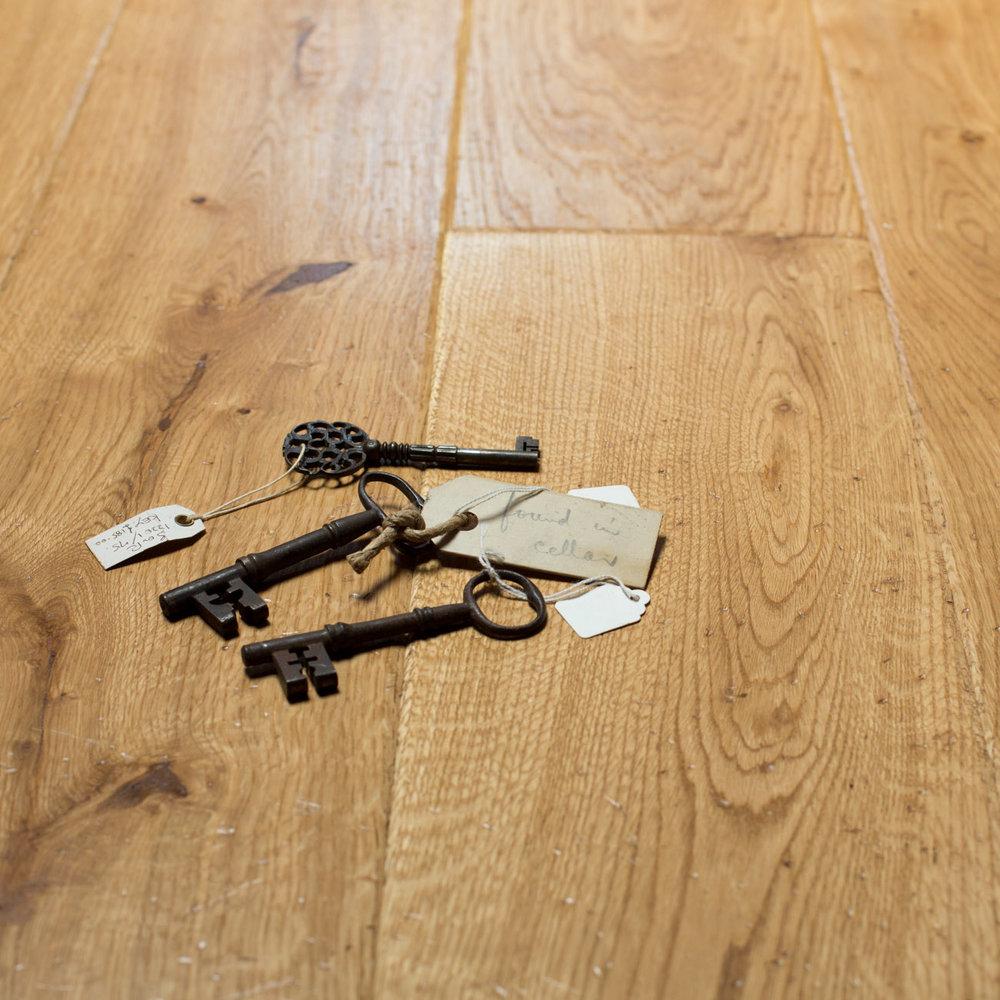Underfloor heating wooden floor