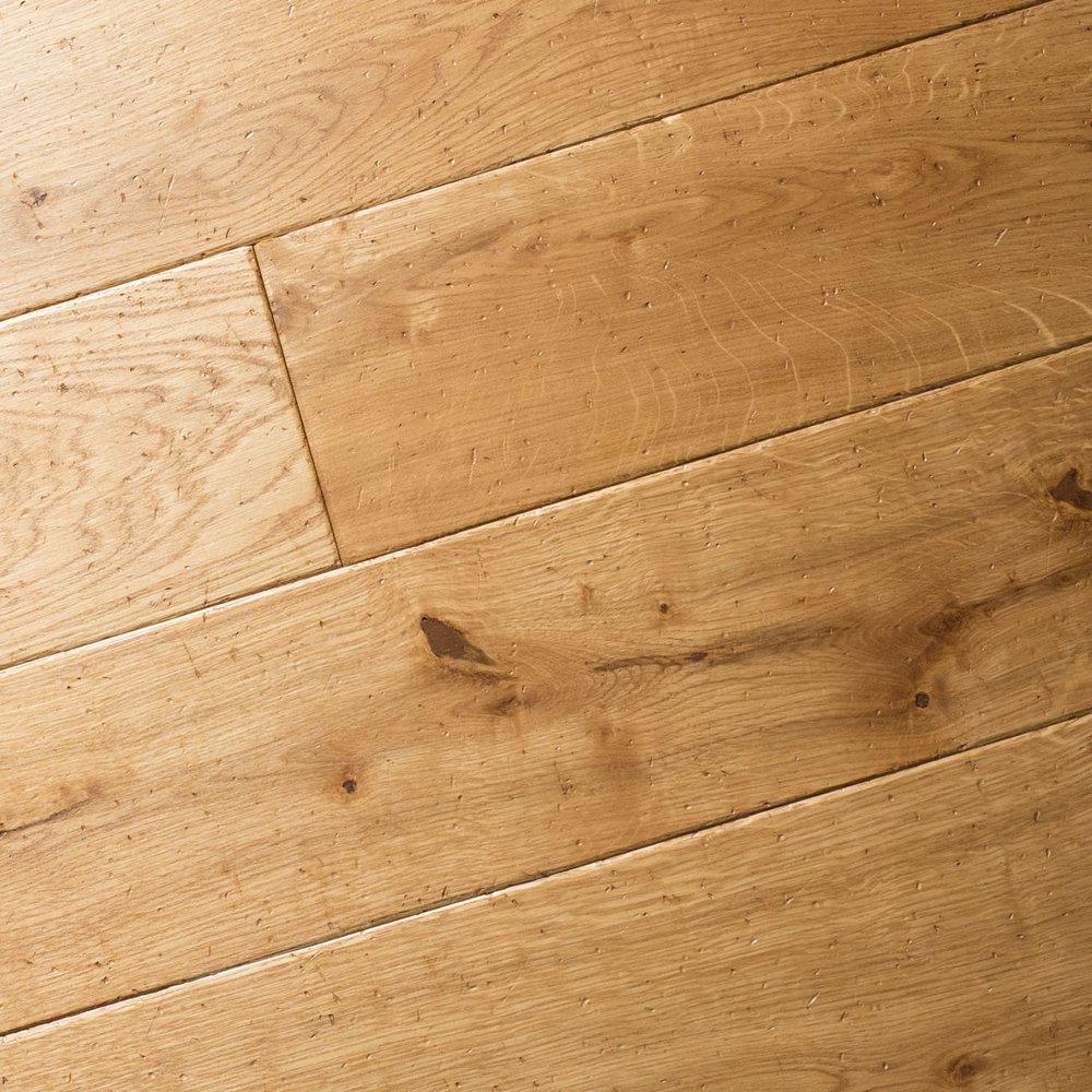 Old oak floor