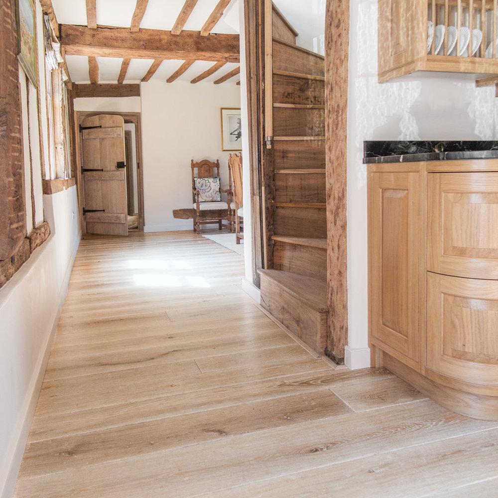 Bespoke wooden flooring