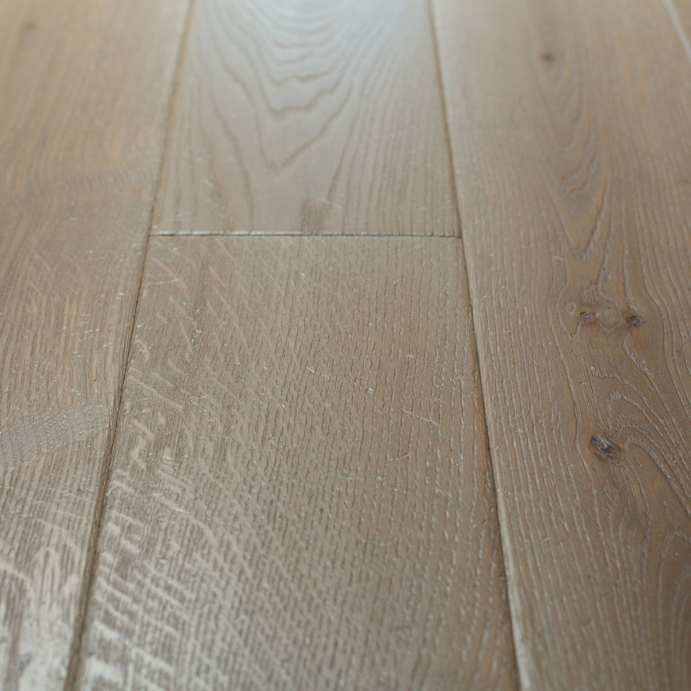 Underfloor heating on wooden floor