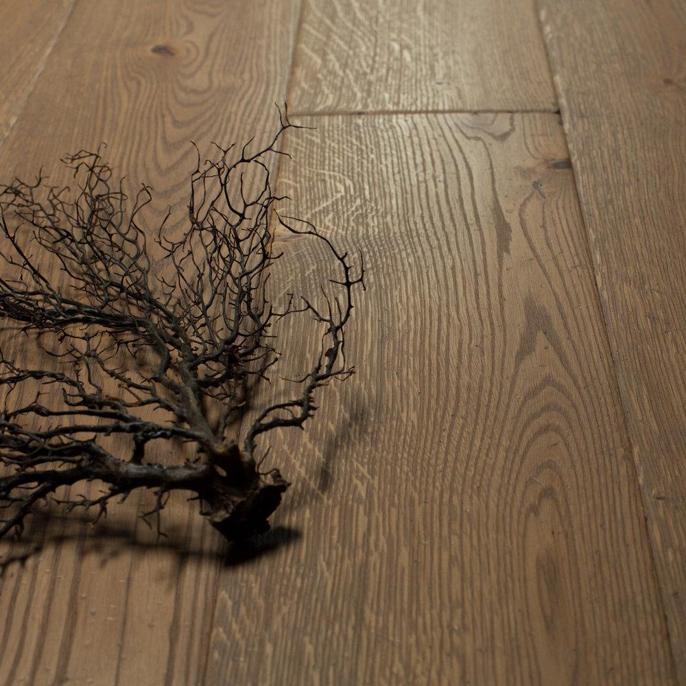 Rustic oak boards