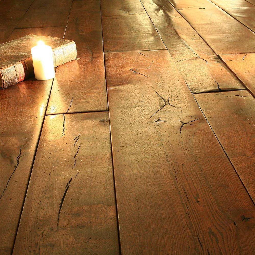 2 Generations rustic distressed wooden flooring.jpg