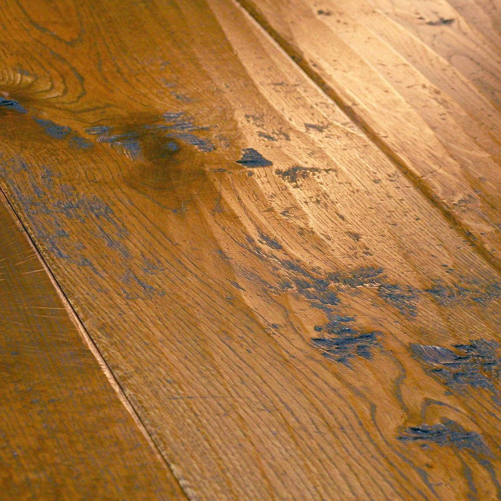 Rustic engineered flooring