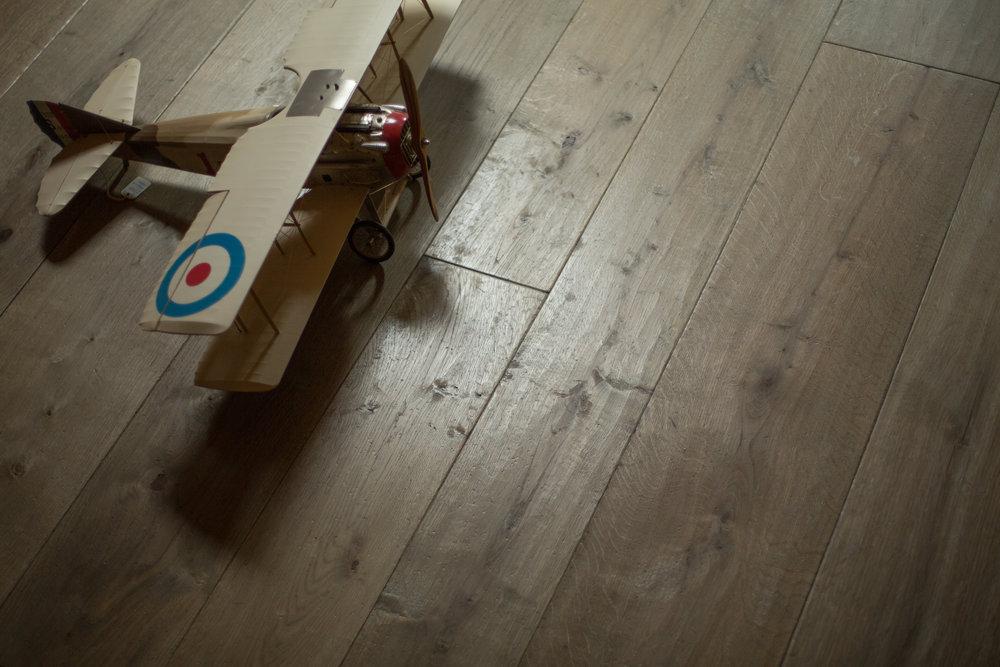 Distressed wood flooring UK