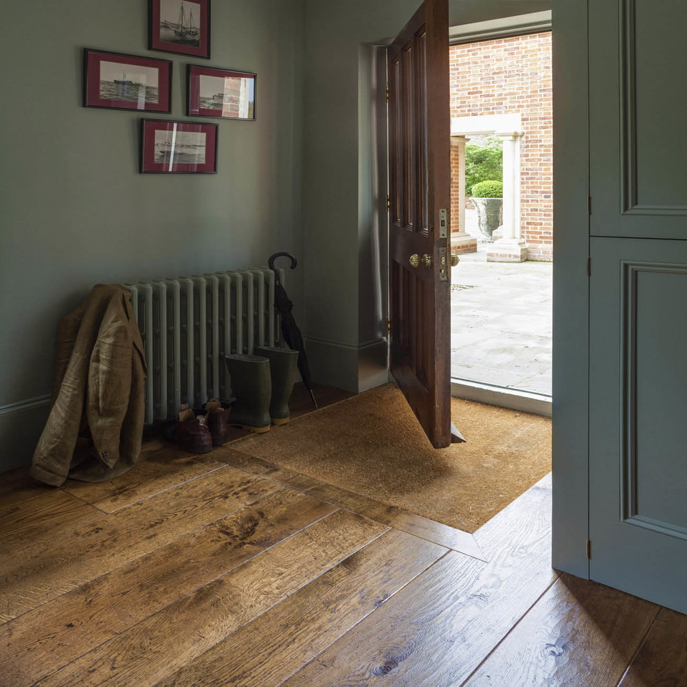 boot room Genuine alternative to reclaimed oak flooring.jpg