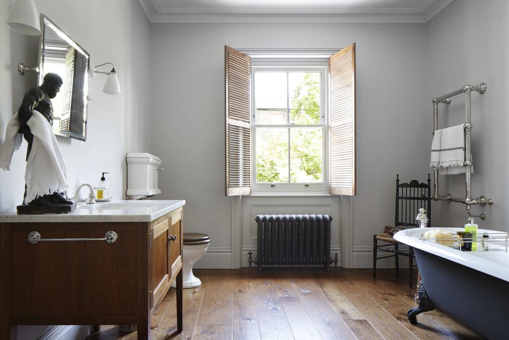 Engineered wood flooring, London