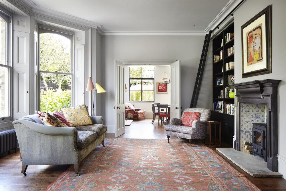 Oak engineered floor