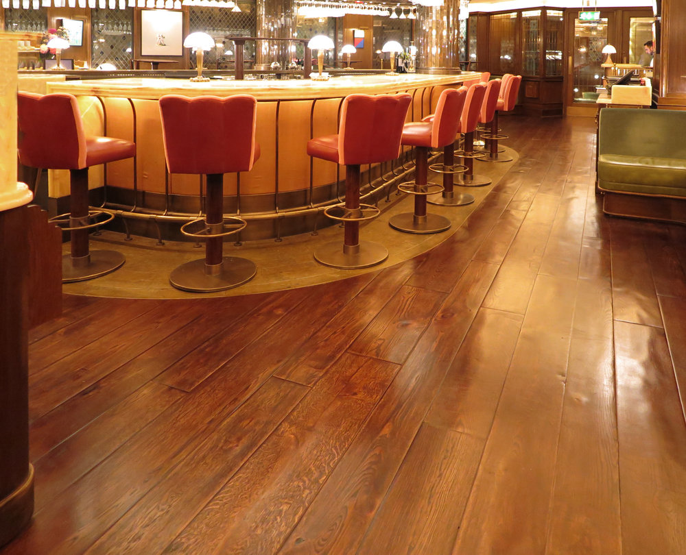 Handcrafted rustic wooden floors