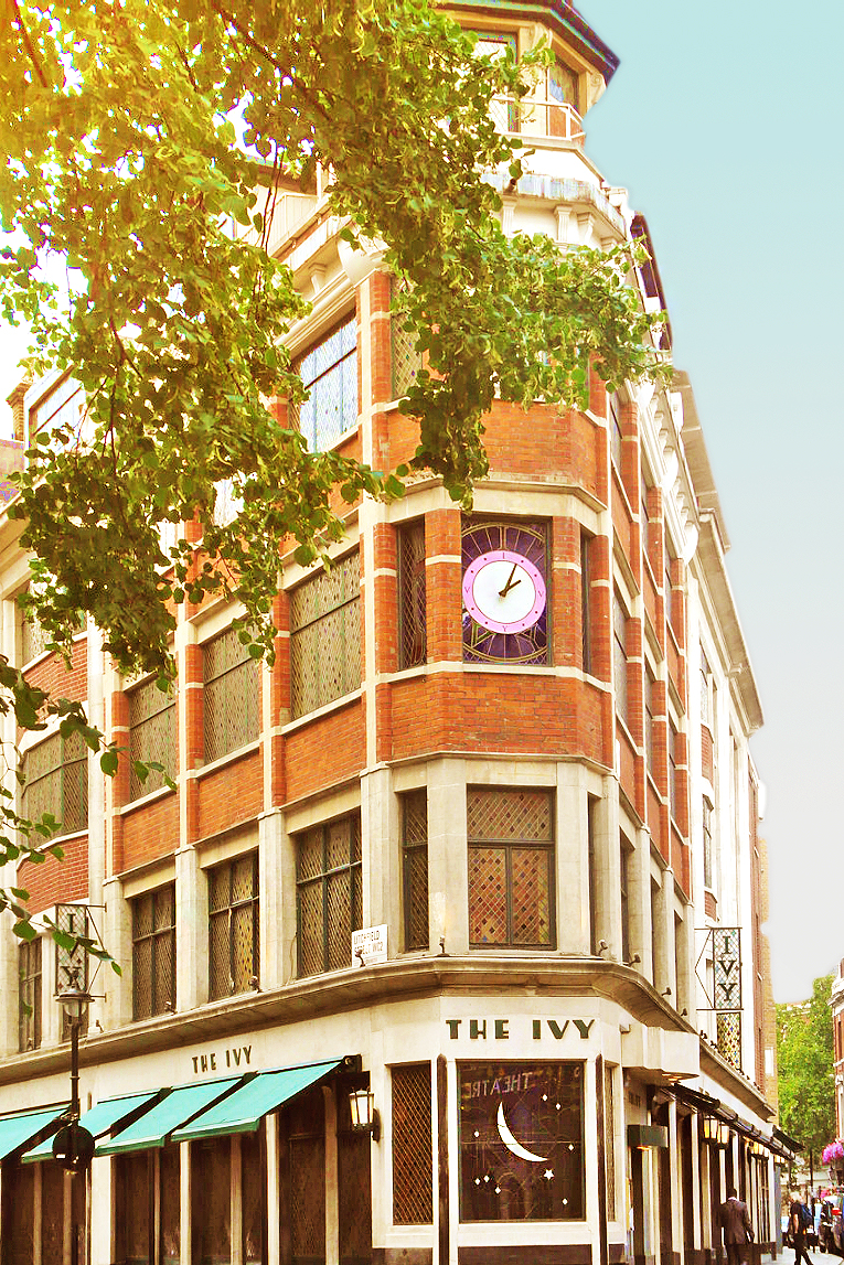 The Ivy restaurant, Covent Garden, West End, London project aged oak flooring.jpg