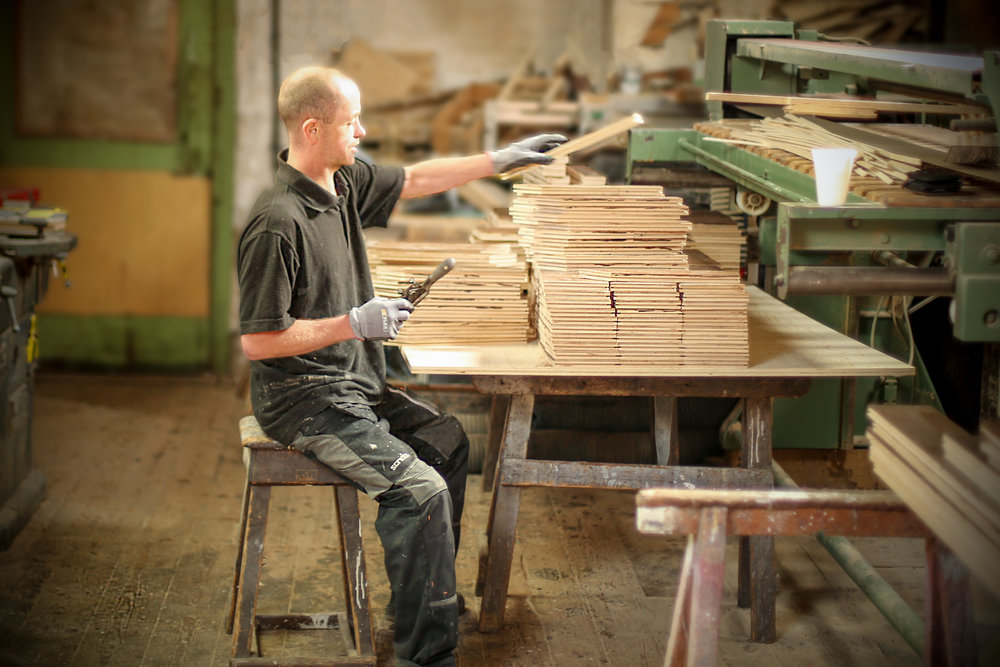 Handmade wood oak floors