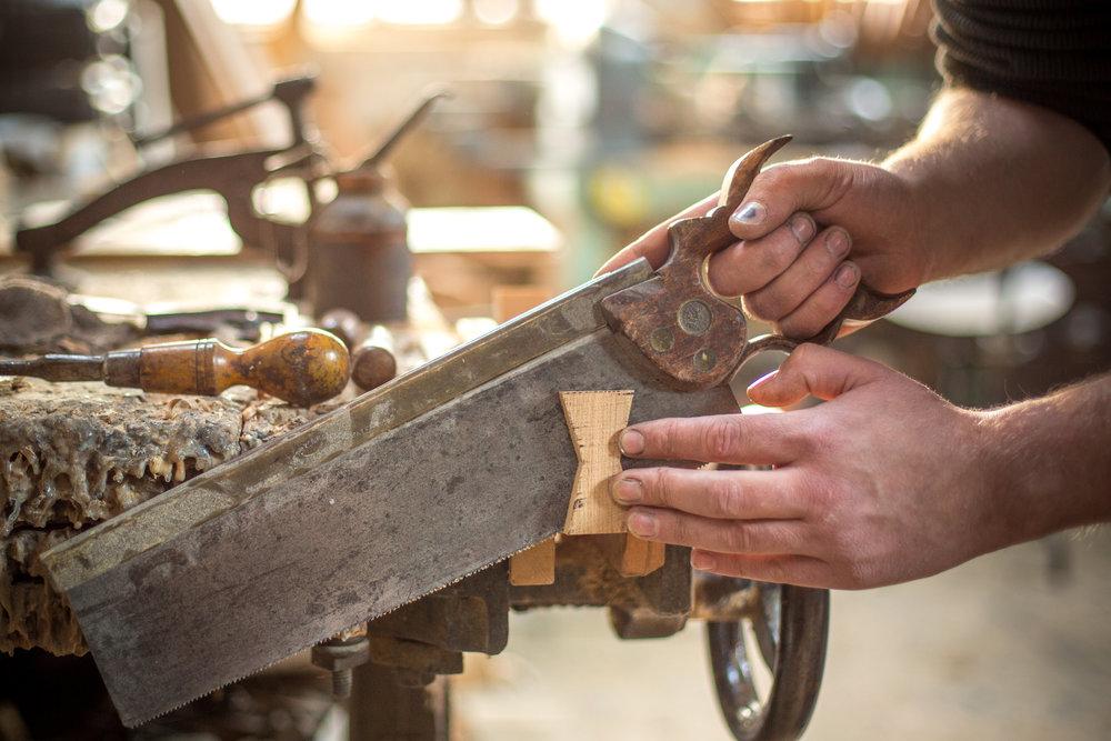 Handmade genuine wood flooring