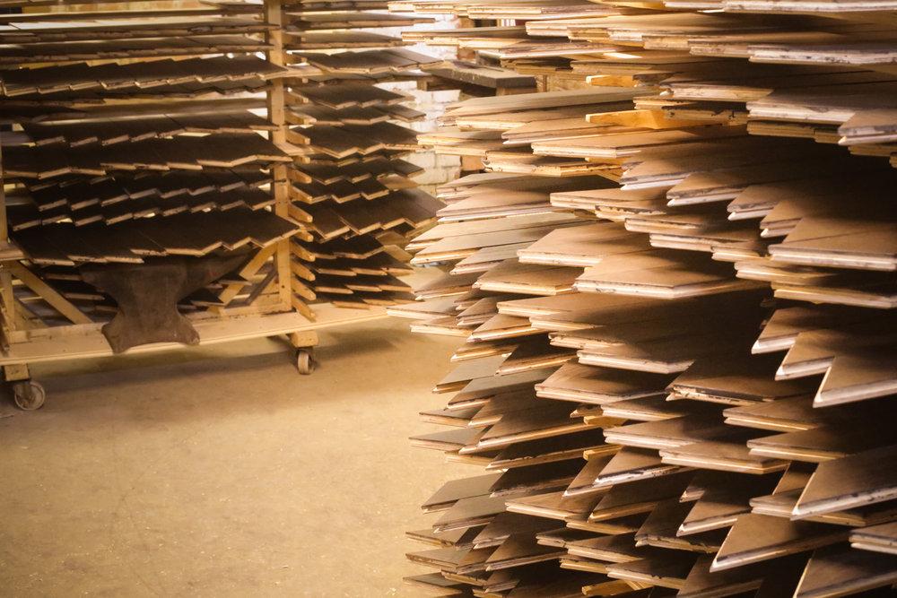 Handcrafted fine oak flooring