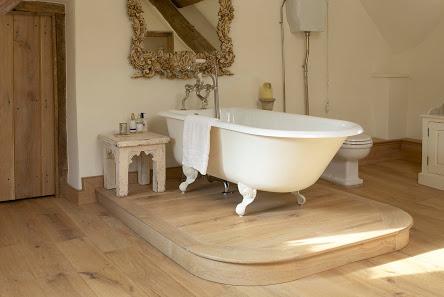 Underfloor heating can be fitted under  engineered oak floors .
